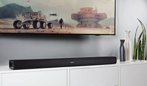 Denon introduces all-in-one soundbar with DTS Virtual: X
