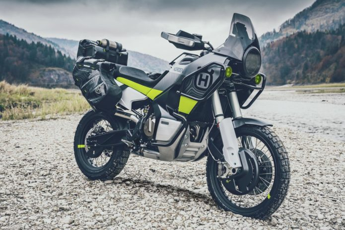 HUSQVARNA NORDEN 901 GOING INTO PRODUCTION: ADV-TOURING MOTORCYCLE