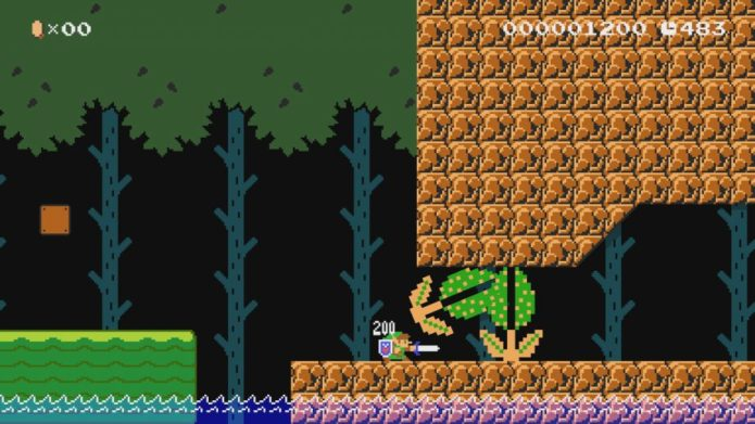 Mario can become Link in the new Mario Maker 2 update