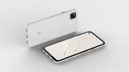This render shows what the upcoming Pixel 4a might look like