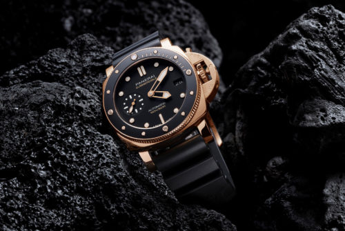 Panerai's Goldtech Gives Its Submersible Glint and Grit