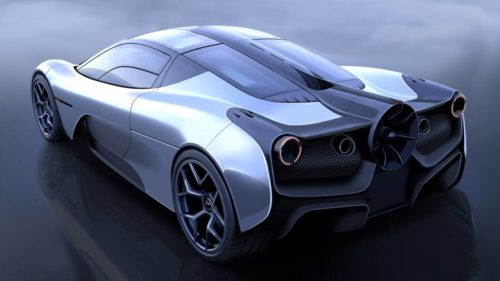 T.50 supercar promises the most advanced aerodynamics ever