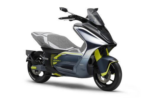 THREE ELECTRIC YAMAHA SCOOTERS: FIRST LOOK FROM TOKYO AUTO SHOW