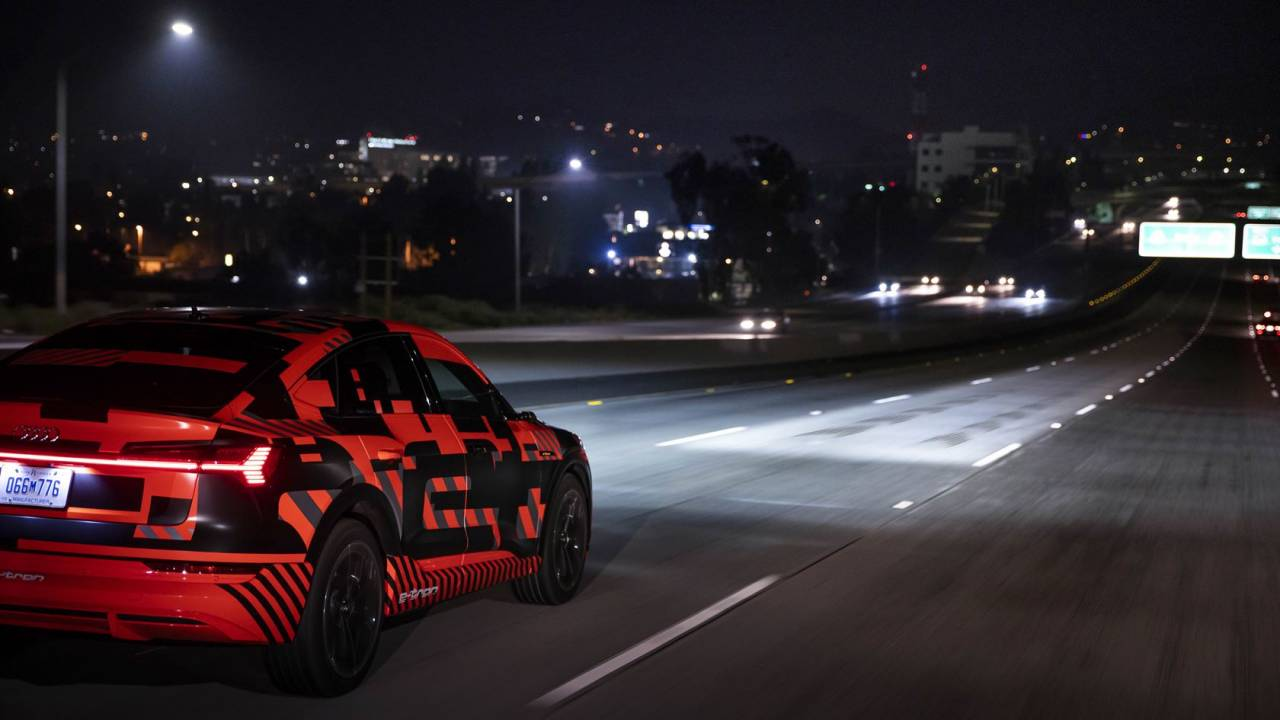 Audi Digital Matrix LED Headlights first look: The e-tron tech the US can't have