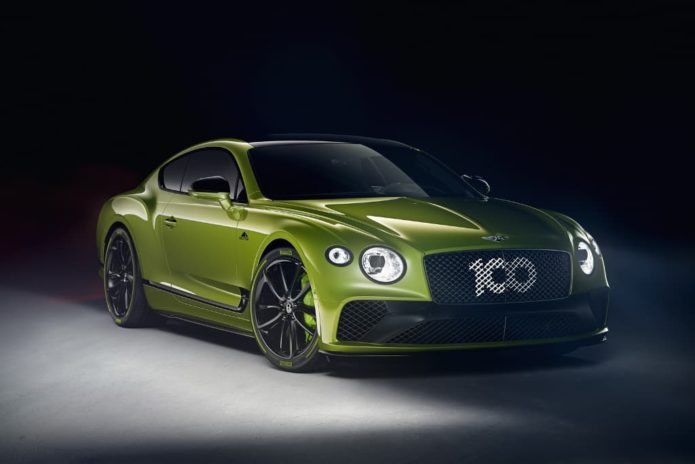 Limited-run Bentley Continental GT celebrates record Pikes Peak climb
