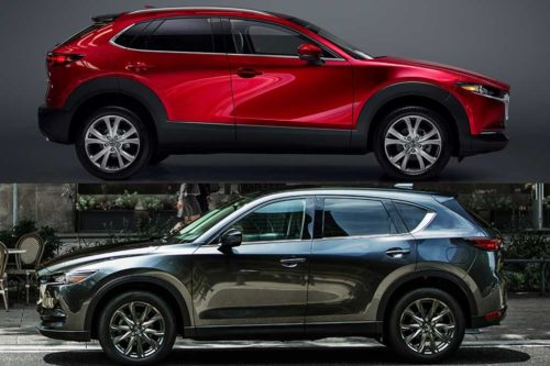 2020 Mazda CX-30 vs. 2020 Mazda CX-5: What's the Difference?