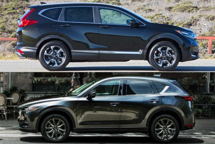 2020 Honda CR-V vs 2020 Mazda CX-5