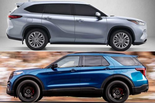 2020 Toyota Highlander vs. 2020 Ford Explorer: Which Is Better?