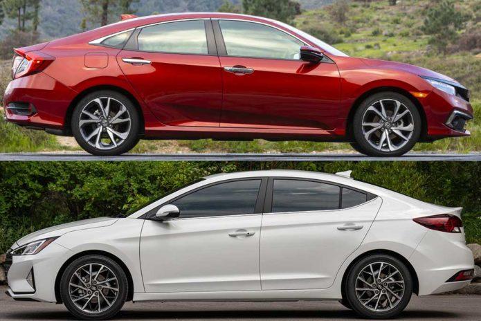 2020 Honda Civic VS 2020 Hyundai Elantra