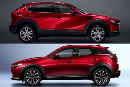 2020 Mazda CX-30 vs. 2020 Mazda CX-3: What's the Difference?