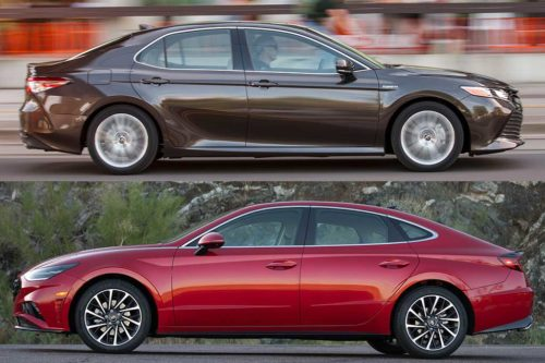 2020 Toyota Camry vs. 2020 Hyundai Sonata: Which Is Better?