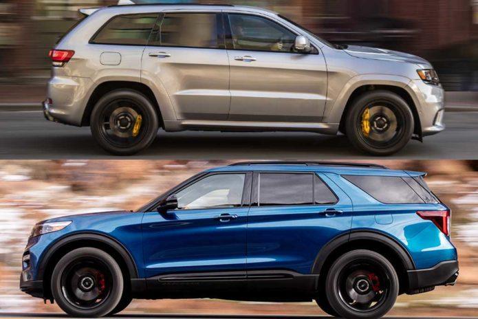2020 Jeep Grand Cherokee VS 2020 Ford Explorer