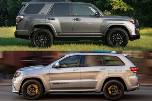 2020 Toyota 4Runner vs. 2020 Jeep Grand Cherokee: Which Is Better?