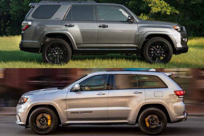 2020 Jeep Grand Cherokee VS 2020 Toyota 4Runner
