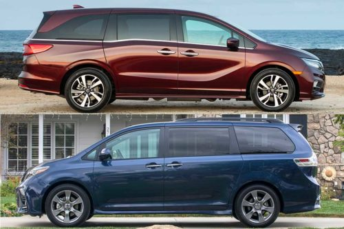 2020 Honda Odyssey vs. 2020 Toyota Sienna: Which Is Better?