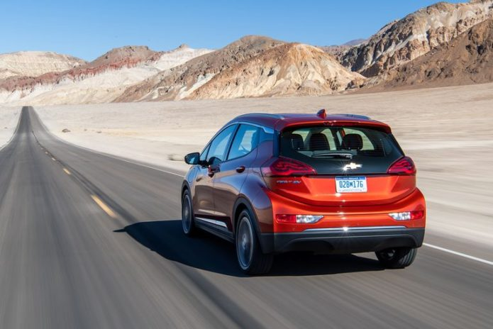 2020 Chevrolet Bolt EV vs. Death Valley: Range Anxiety in a Hot Seat