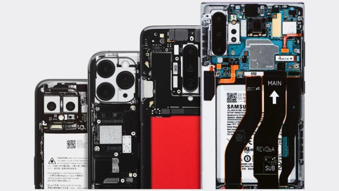 dbrand Teardown limited edition phone skins let you fake transparent backs