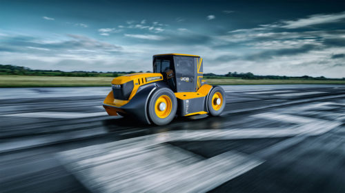 JCB Fastrac Two tractor has 1,106hp and goes 153 mph