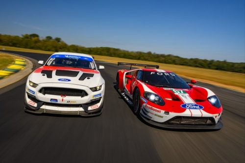 We Uncork Ford's Mustang GT4 and GT GTLM Racers on VIR