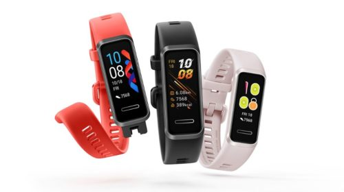 HUAWEI Band 4 Pro First Look: Support for Standalone NFC+GPS