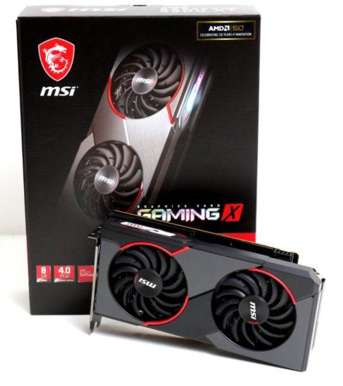 MSI Radeon RX 5500 XT Gaming X 8 GB Review