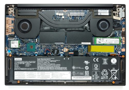 Inside Lenovo ThinkPad X1 Extreme Gen 2 – disassembly and upgrade options