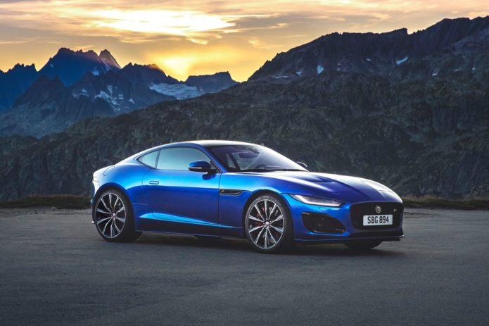 2021 Jaguar F-Type Looks Edgier, Simplifies Engine Lineup