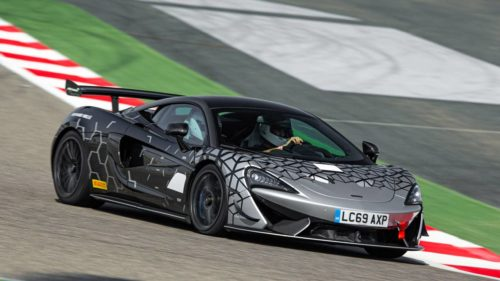 McLaren 620R is the street-legal GT4 racer