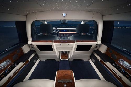 Rolls-Royce debuts Privacy Suite and Cullinan Black Badge