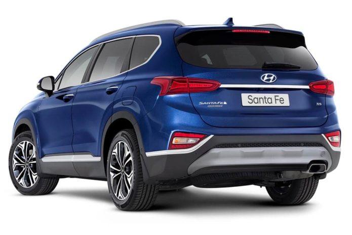 2020 Hyundai Santa Fe introduces 206kW V6 petrol