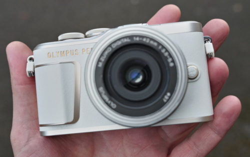 The Olympus PEN E-PL10 is a stylish beginner's camera hiding last-gen hardware