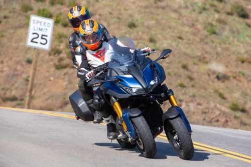 2019 YAMAHA NIKEN GT TWO-UP TEST: PASSENGER-FRIENDLY MOTORCYCLE
