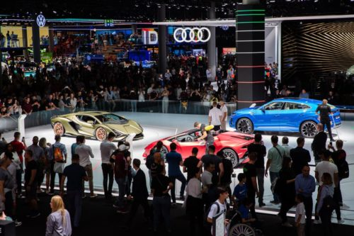 Frankfurt motor show axed