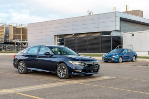 2019 Honda Accord Hybrid vs. 2019 Toyota Camry Hybrid: Which Gas-Sipping Family Sedan Is Better?