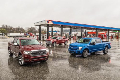 Diesel Half-Ton Tug of War: Chevy vs. Ford vs. Ram