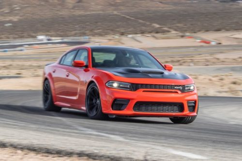 2020 Dodge Charger Hellcat Widebody Has No Sympathy for Its Tires