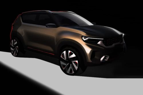Baby Kia SUV previewed