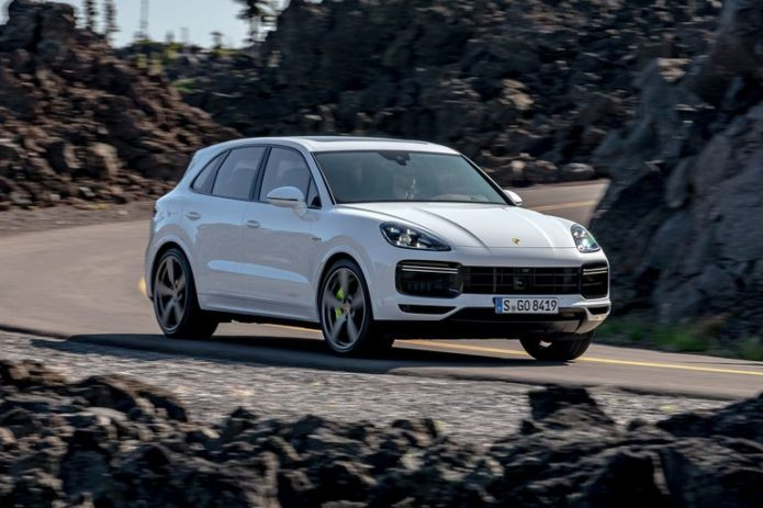 2020 Porsche Cayenne Turbo S E-Hybrid Is Large and in Charge