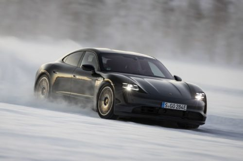 2020 Porsche Taycan 4S Has No Time for Your Winter Driving Worries