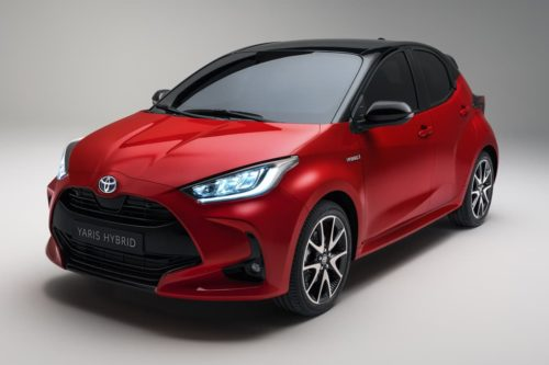 New Toyota Yaris to replace Prius c