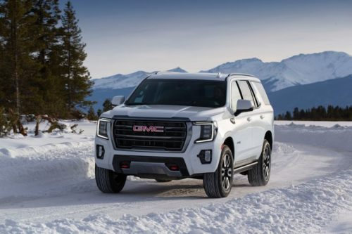New 2021 GMC Yukon, Yukon XL Get AT4 Off-Road Trim and Diesel Engine