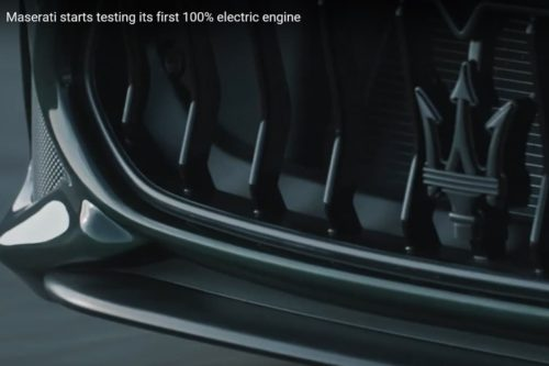 Listen to Maserati's first EV