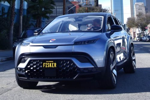 Fisker Ocean EV finally unveiled