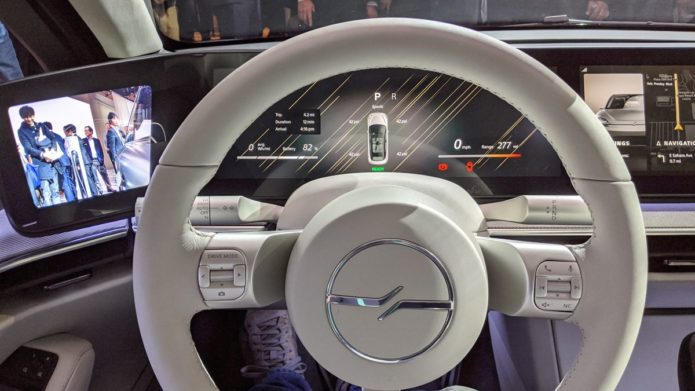 Hands on: Sony Vision-S car review