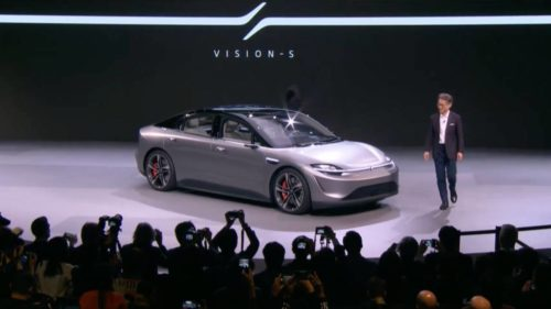 Sony Vision-S is a surprise car showcase of automotive tech