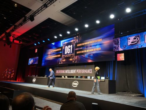 Look out Nvidia and AMD, Intel reveals DG1 discrete graphics card at CES 2020