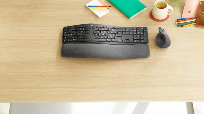 Logitech Ergo K860 keyboard is the perfect MX Vertical companion