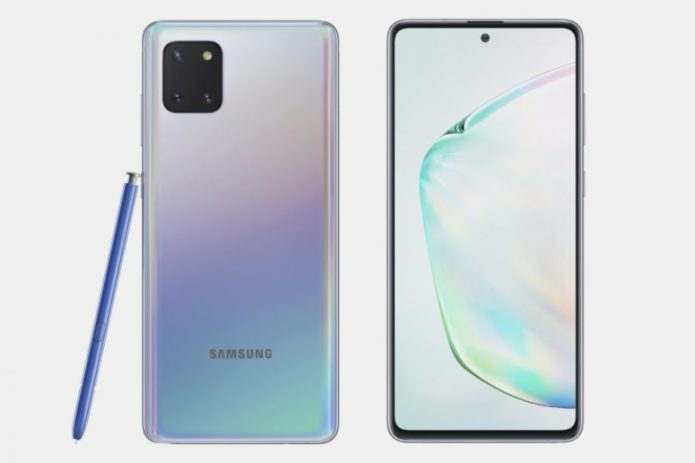 Samsung Galaxy Note 10 Lite is official and the S Pen is in tow