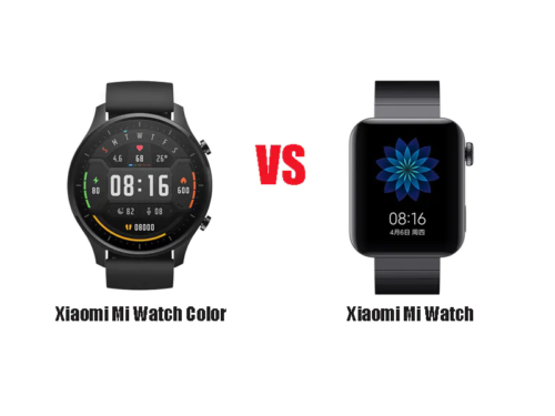 Xiaomi Mi Watch vs Mi Watch Color: what are your main differences?