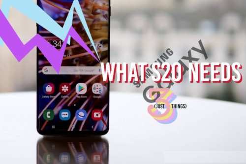The Galaxy S20 must fix these three big S10 flaws